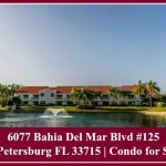 Vista Verde condo for sale in St Petersburg FL